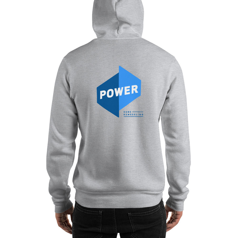 Power Front/Back Hoodie