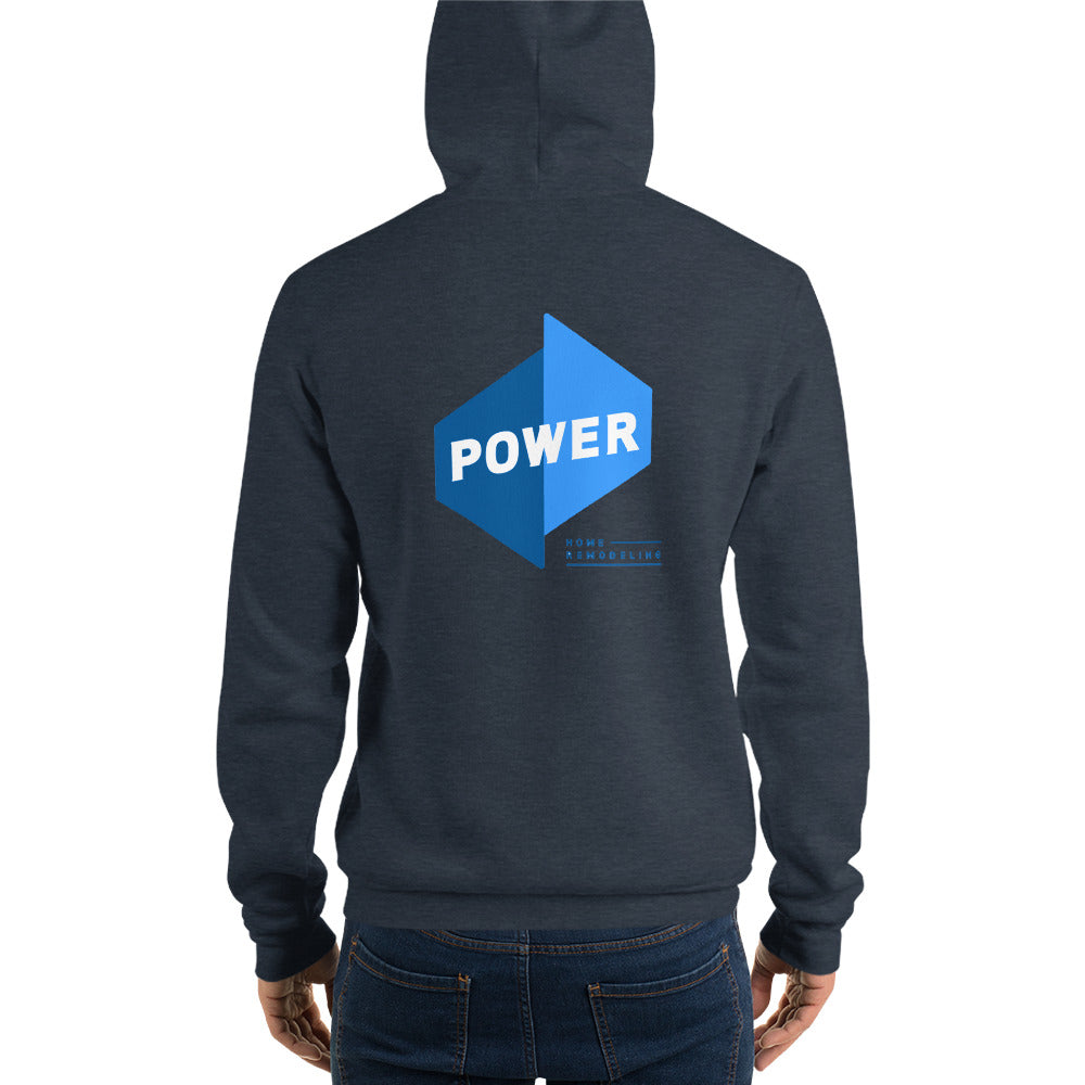 Power Hoodie Front/Back