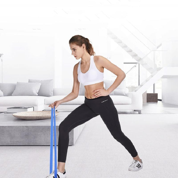 Gym Resistance band and Elastic band training