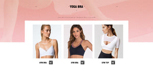 Glenda Yoga Bras For Women