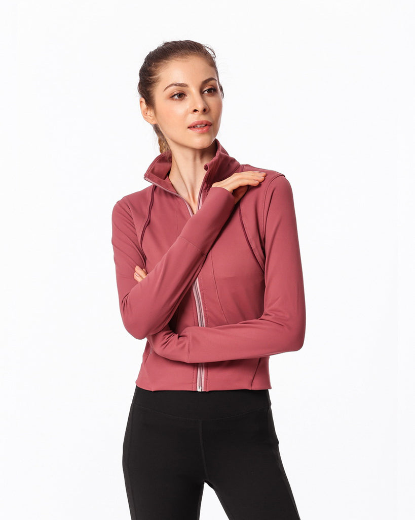 Gym  Beauty sports running long-sleeved female - GLENDA