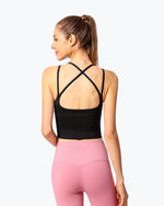 Gym Sports Running  Shockproof Fitness Vest Sports Bras - GLENDA