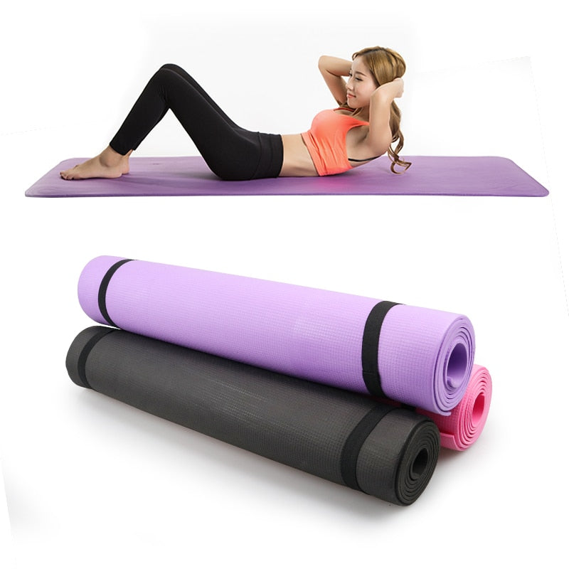 Yoga Mats Anti-slip Blanket PVC Gymnastic Sport Health Lose Weight Fitness Exercise Pad Women Sport Yoga Mat - GLENDA