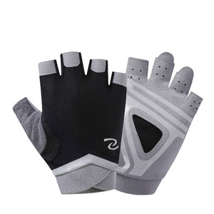 Gym Women's Half Finger Fitness Breathable Non-slip Gloves - GLENDA