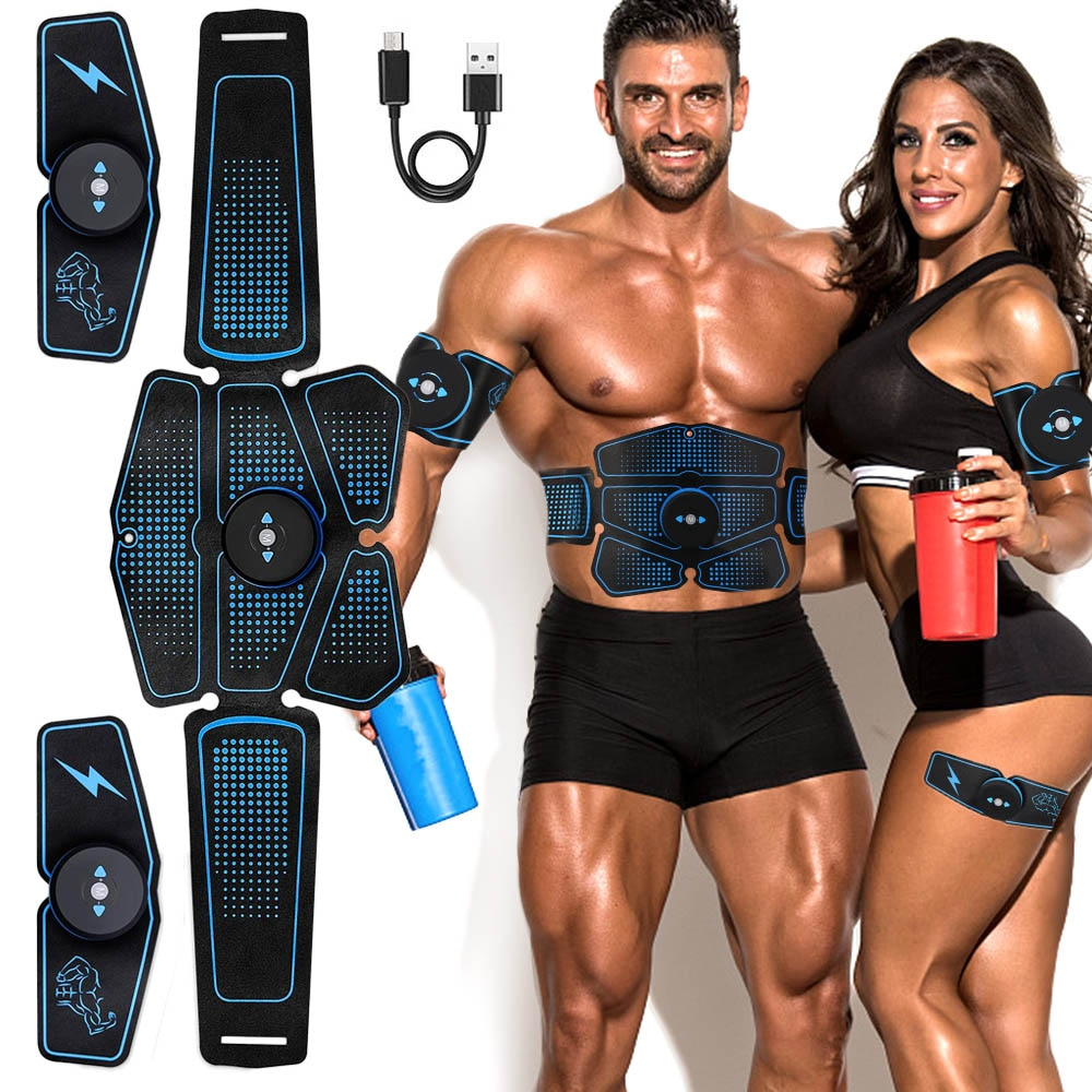 Gym  Abdominal muscle stimulation trainer - GLENDA