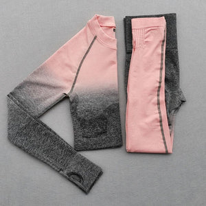 YOGA WORKOUT GRADIENT SET - GLENDA