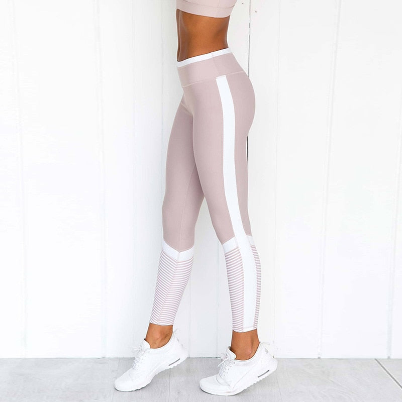 Gym Women Yoga Slim High Waist leggings Slim Fit Pants - GLENDA