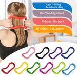 Gym Yoga Circle Equipment Multifunction Yoga Ring Pilates Workout Fitness Circle Training Resistance Support Tool Calf Home - GLENDA