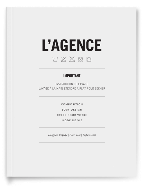 l'agence handbook picture