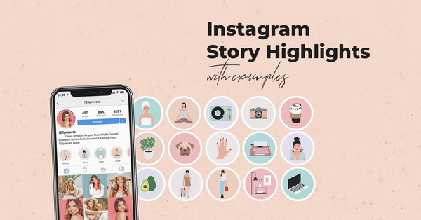 Most Trendy Canva Instagram Highlights (+ Examples)
