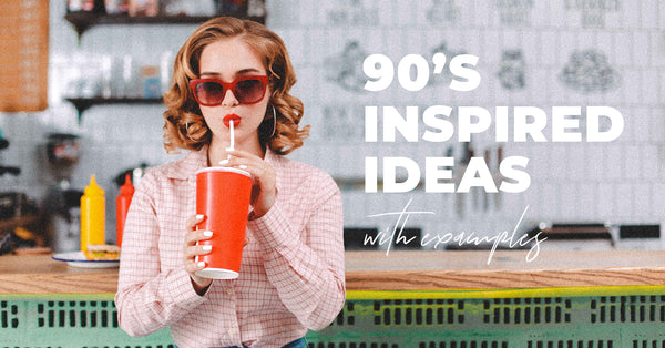 90s Inspired Photoshoot Ideas (+ photos)