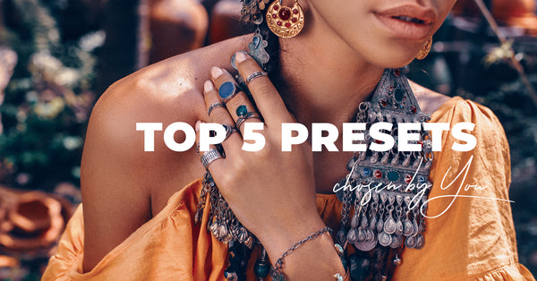 TOP 5 Lightroom Presets Picked by Our Community