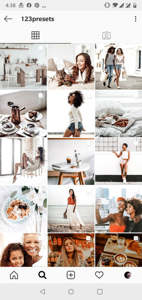 instagram feed inspiration minimal