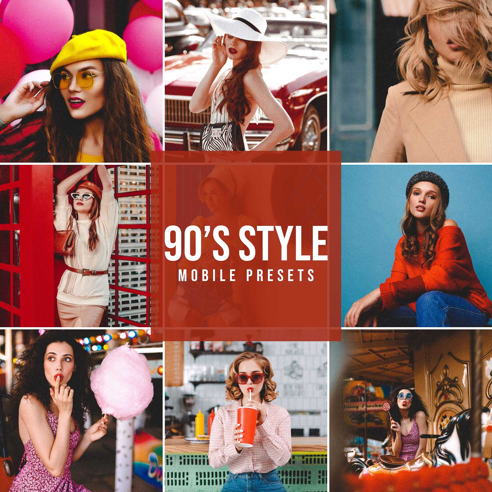 90's STYLE MOBILE LIGHTROOM PRESETS
