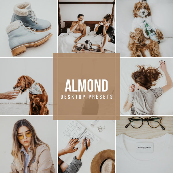 ALMOND DESKTOP LIGHTROOM PRESETS