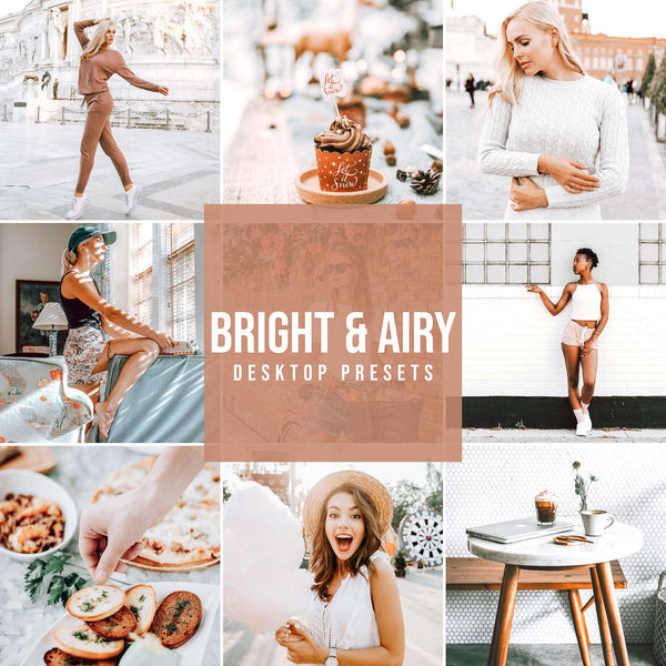 BRIGHT & AIRY DESKTOP LIGHTROOM PRESETS