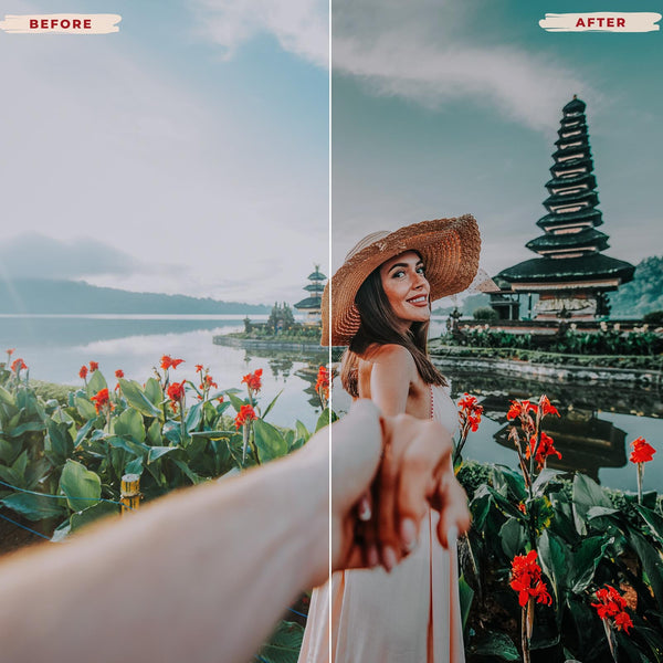 BALI MOBILE LIGHTROOM PRESETS