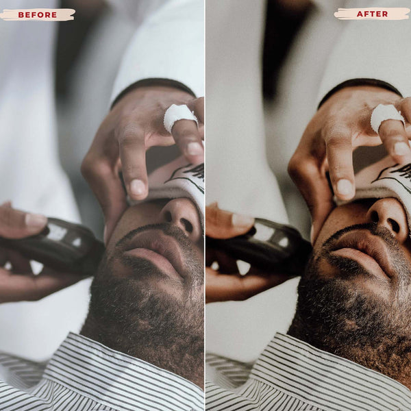 BARBERS DESKTOP LIGHTROOM PRESETS