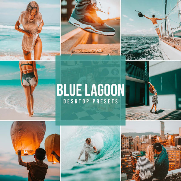 BLUE LAGOON DESKTOP LIGHTROOM PRESETS