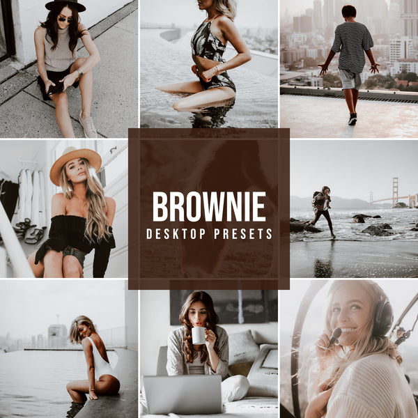 BROWNIE DESKTOP LIGHTROOM PRESETS