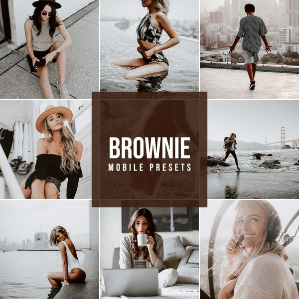 BORWNIE MOBILE LIGHTROOM PRESETS