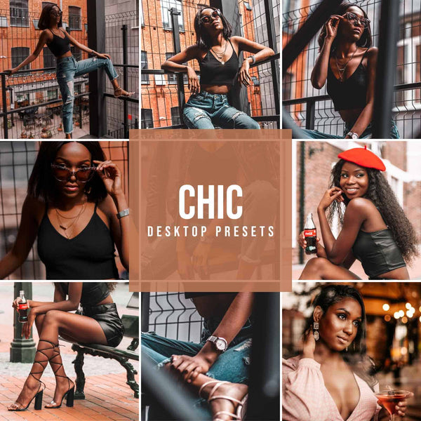 CHIC DESKTOP LIGHTROOM PRESETS