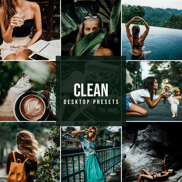 CLEAN DESKTOP LIGHTROOM PRESETS