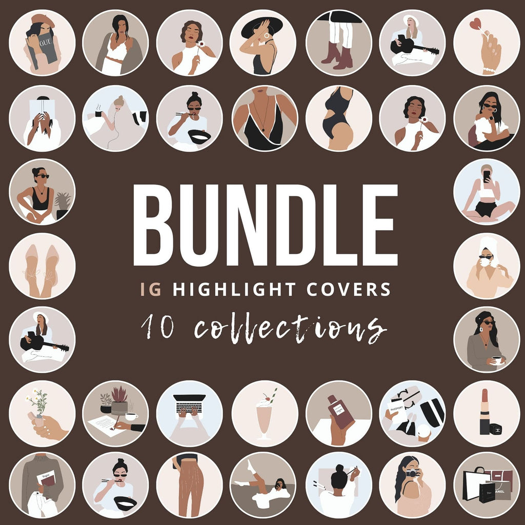 IG HIGHLIGHT COVERS BUNDLE