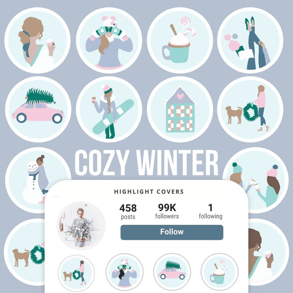 COZY WINTER IG HIGHLIGHT COVERS