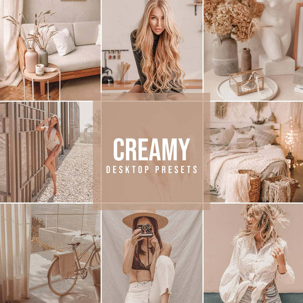 CREAMY DESKTOP LIGHTROOM PRESETS