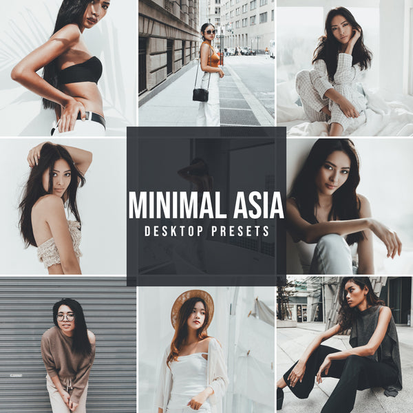 MINIMAL ASIA DESKTOP LIGHTROOM PRESETS