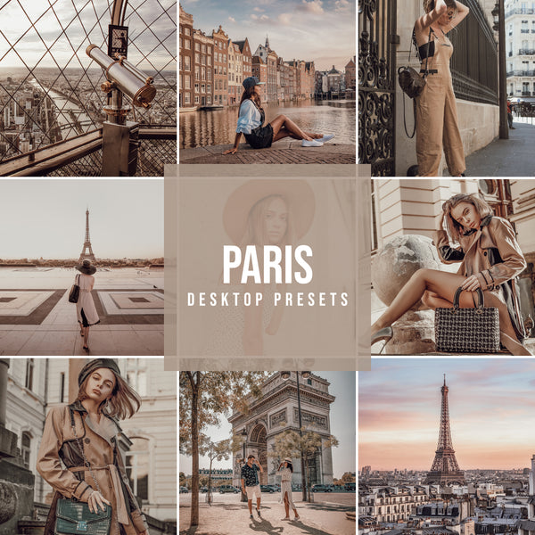 PARIS DESKTOP LIGHTROOM PRESETS