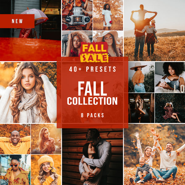 """FALL COLLECTION"" PRESETŲ RINKINYS"