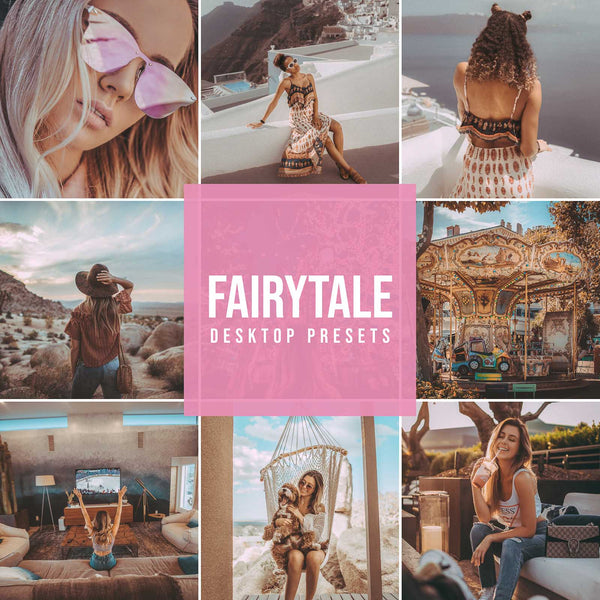 FAIRYTALE DESKTOP LIGHTROOM PRESETS
