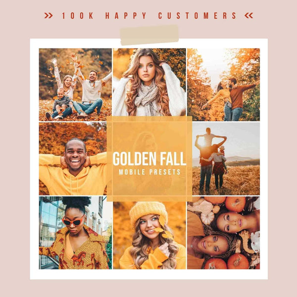 FALL COLLECTION MOBILE (8 PACKS)