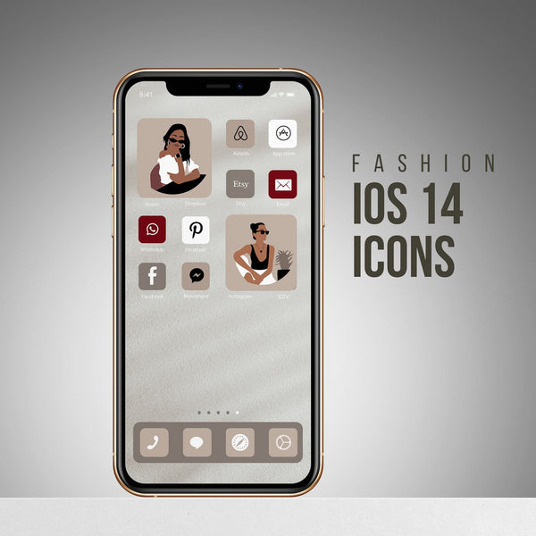 FASHION iOS 14 ICONS