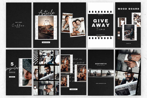 FILM CANVA TEMPLATES