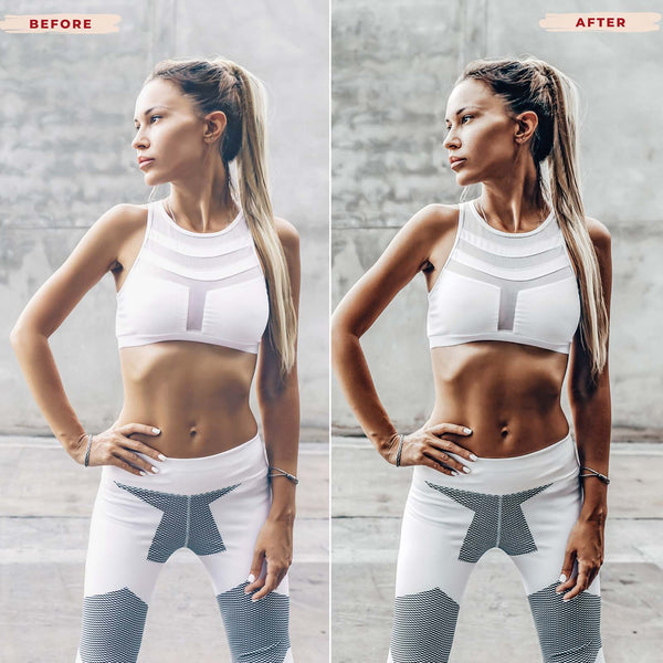 FITNESS MOBILE LIGHTROOM PRESETS