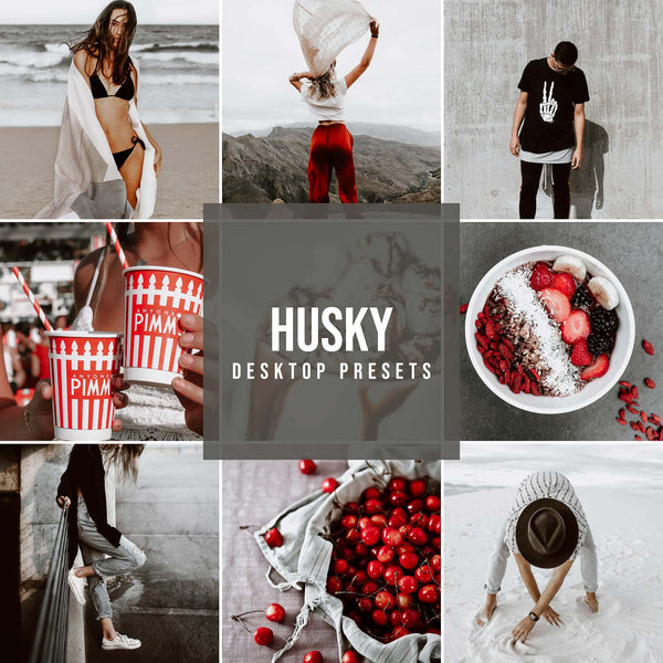 HUSKY DESKTOP LIGHTROOM PRESETS