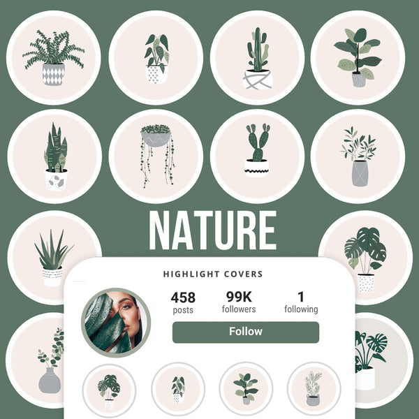 NATURE IG HIGHLIGHT COVERS