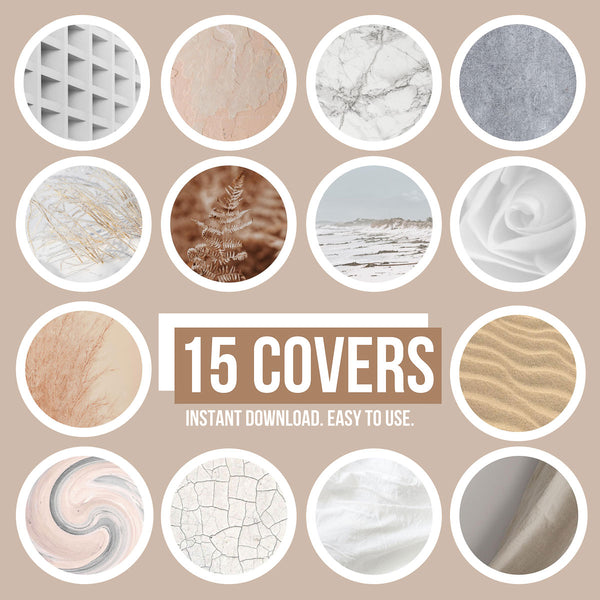 TEXTURES IG HIGHLIGHT COVERS