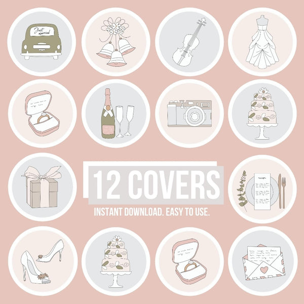 WEDDING IG HIGHLIGHT COVERS