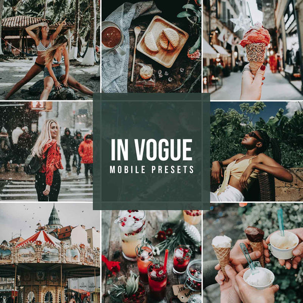 IN VOGUE MOBILE LIGHTROOM PRESETS