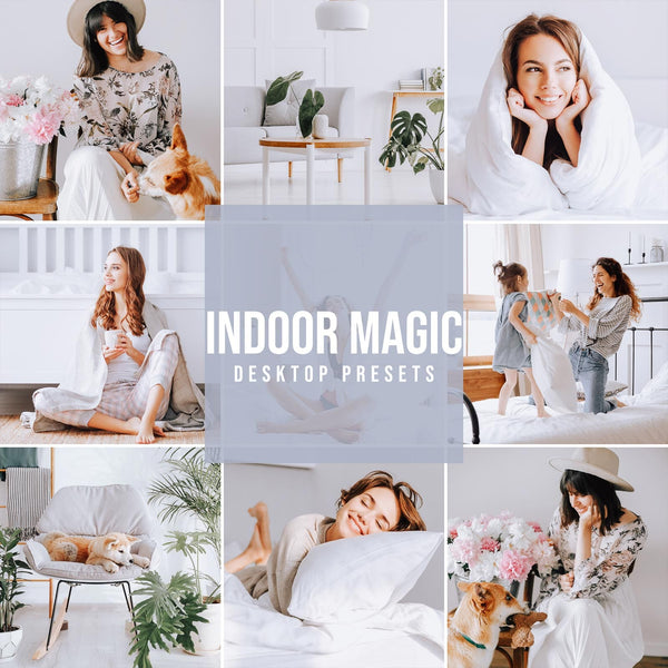 INDOOR MAGIC DESKTOP LIGHTROOM PRESETS