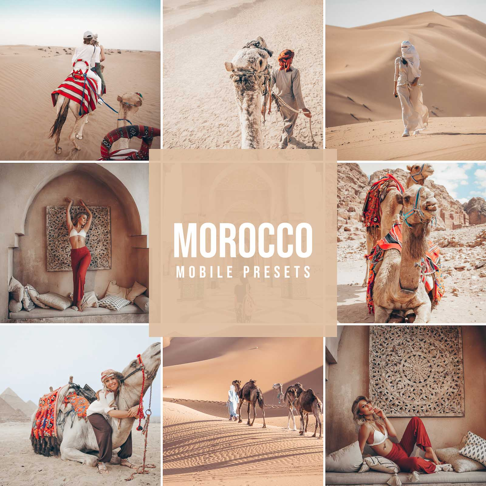 MOROCCO MOBILE LIGHTROOM PRESETS