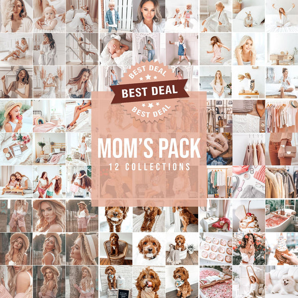 MOM'S COLLECTION DESKTOP (12 PACKS)