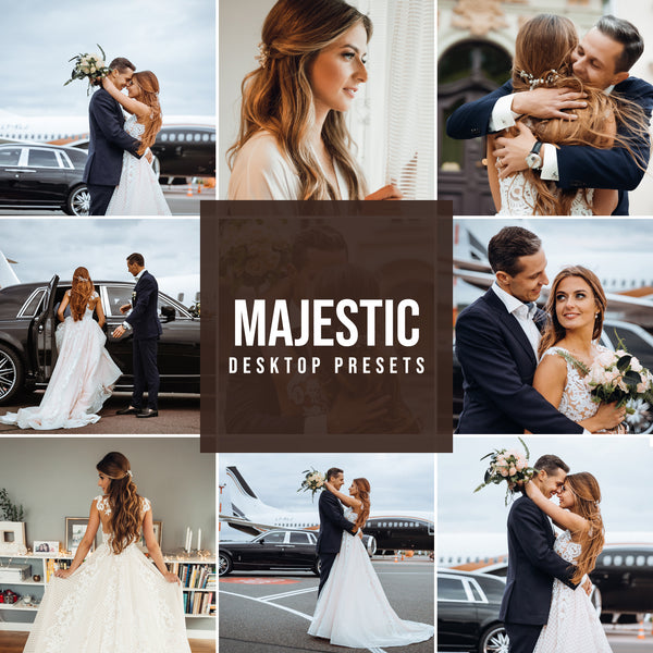 MAJESTIC DESKTOP LIGHTROOM PRESETS