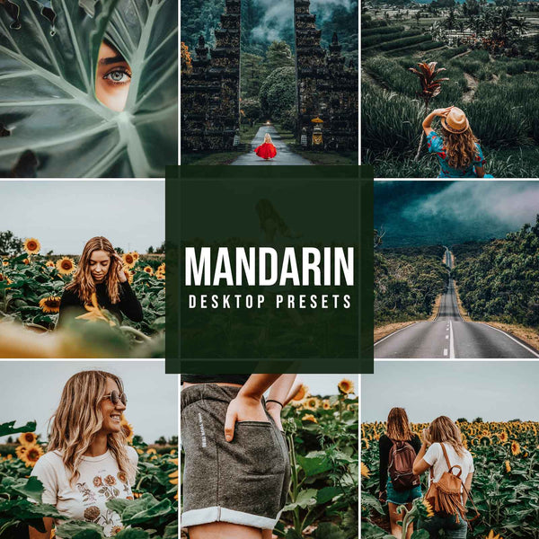 MANDARIN DESKTOP LIGHTROOM PRESETS