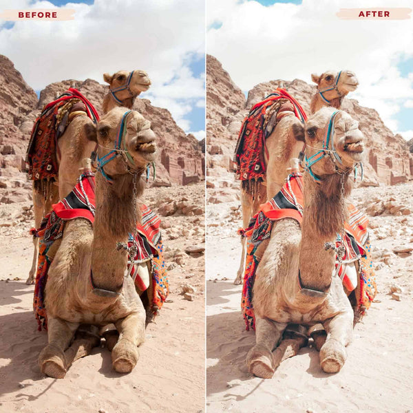MOROCCO DESKTOP LIGHTROOM PRESETS