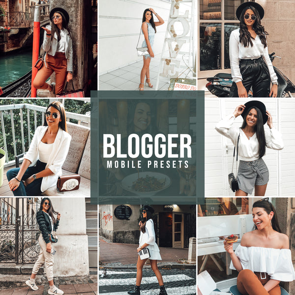 BLOGGER MOBILE LIGHTROOM PRESETS